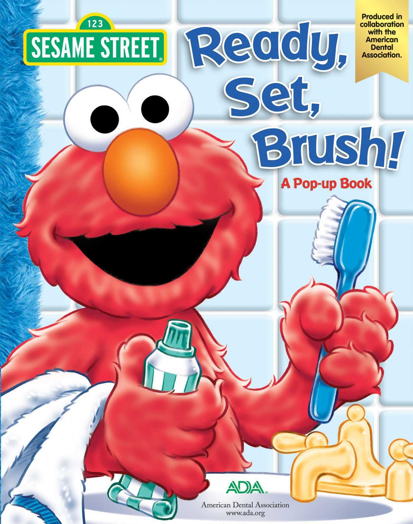 Ready, Set, Brush - Elmo Pop-Up Book